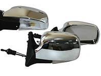 Зеркало боковое ЗБ 3107П/LADA 04,05,07/CHROME/LED хром/пов