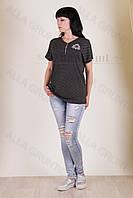 Блуза трикотажная 7009-141/2-238 полубатал от производителя Украина