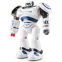 Боевой программируемый робот JJRC R1 Defender Бело-синий (JJRC-R1B)