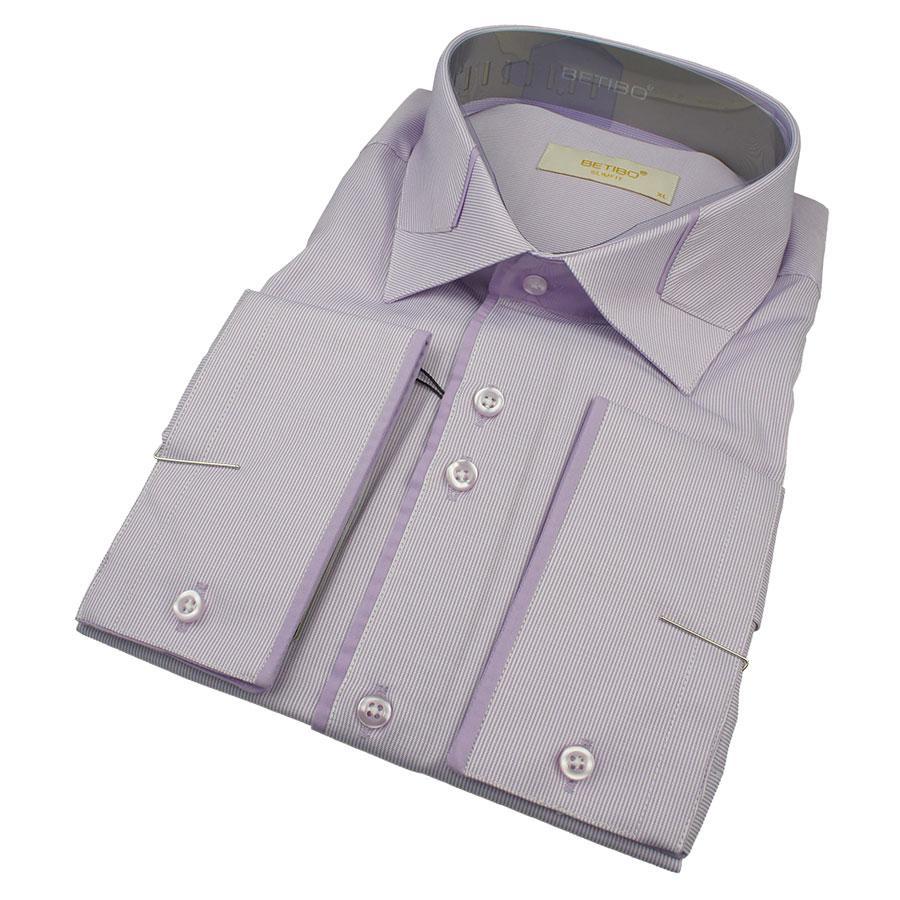 Чоловіча сорочка Betibo 0350 Н Slim С розмір ХXL