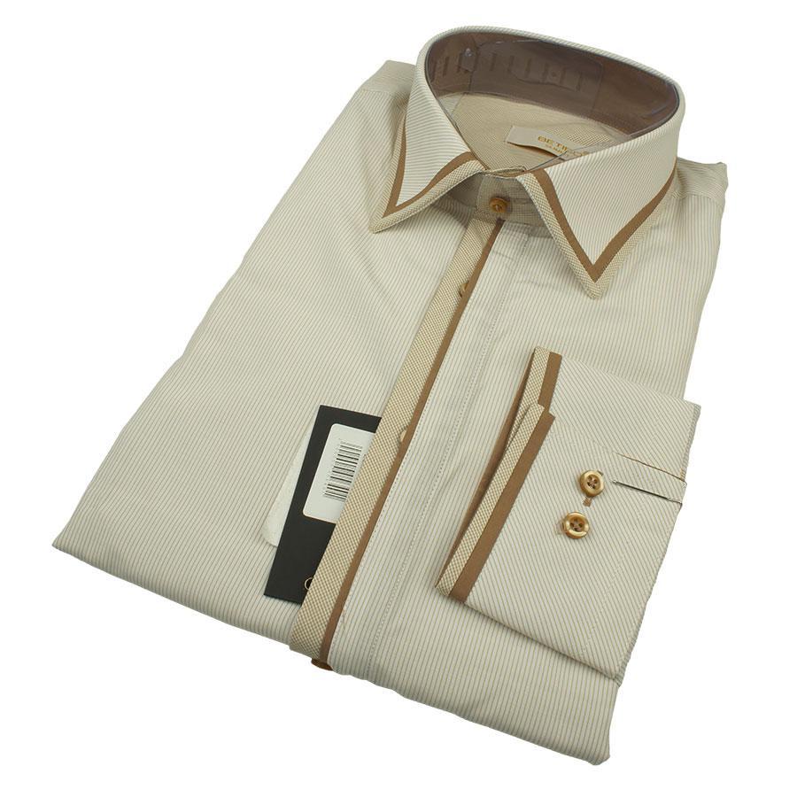 Стильная мужская рубашка Betibo 0350 Н Slim С размер L