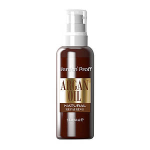 Натуральное аргановое масло Jerden Proff ARGAN OIL NATURAL, 60 мл
