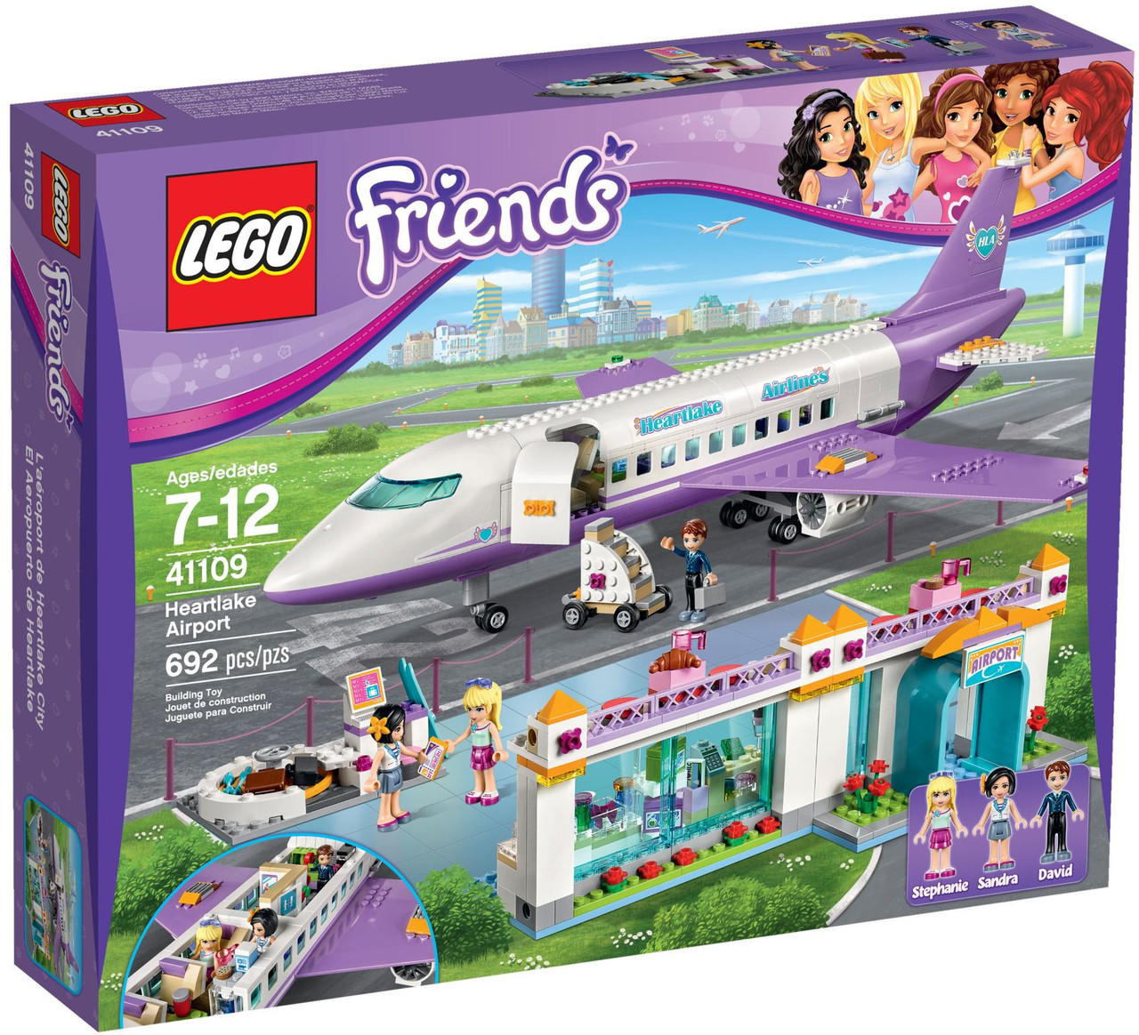 Lego Friends Аэропорт в Хартлейке 41109