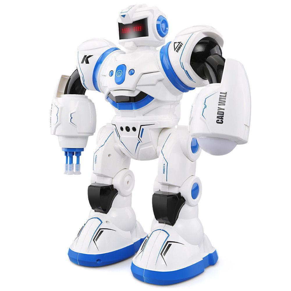 С витрины! Боевой программируемый робот JJRC R3 Cady Will Бело-синий (JJRC-R3B)