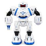 С витрины! Боевой программируемый робот JJRC R3 Cady Will Бело-синий (JJRC-R3B), фото 2