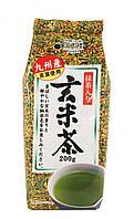 Генмайча - японский зеленый чай с обжаренным неочищ. рисом, 200 г.