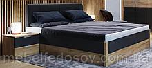 Кровать двуспальная с мягкой спинкой 160 Рамона  (Миро Марк/MiroMark)