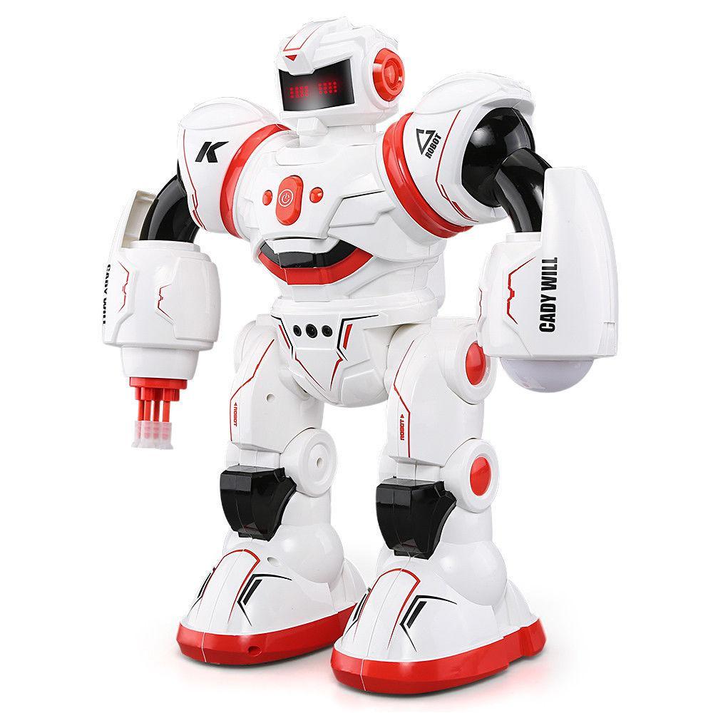 Бойовий програмований робот JJRC R3 Cady Will Біло-червоний (JJRC-R3R)
