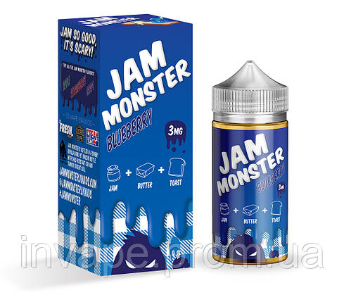 Jam Monster – Blueberry (Клон премиум жидкости) v1, фото 2