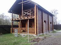 Строительство бани в 2 этажа, фото 1