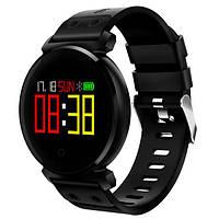 Смарт-часы Cacgo K2 черные водонепроницаемые IP68 OLED HD (измерение кислорода и кровяного давления), фото 1
