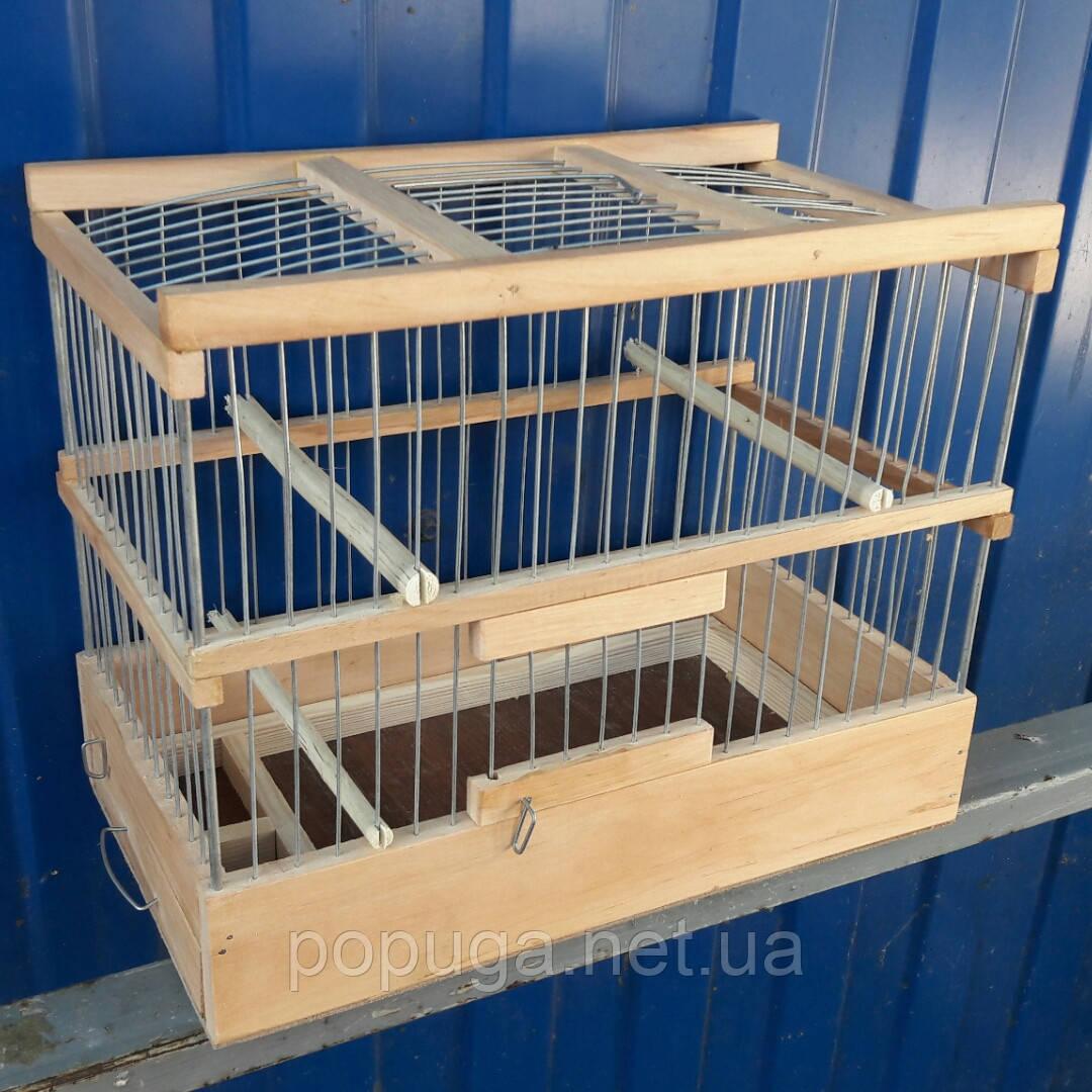 Клетка деревянная для птиц 1