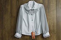 Шифоновая блузка для девочек. 122 рост.