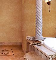 Венецианская штукатурка San Marco GRASSELLO DI CALCE (ГРАССЕЛО ДИ КАЛЬЧЕ) - для внутренних работ.