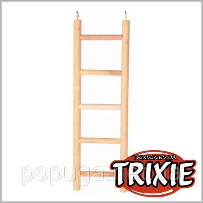 Деревянная широкая лестница для попугая Trixie, 70 см