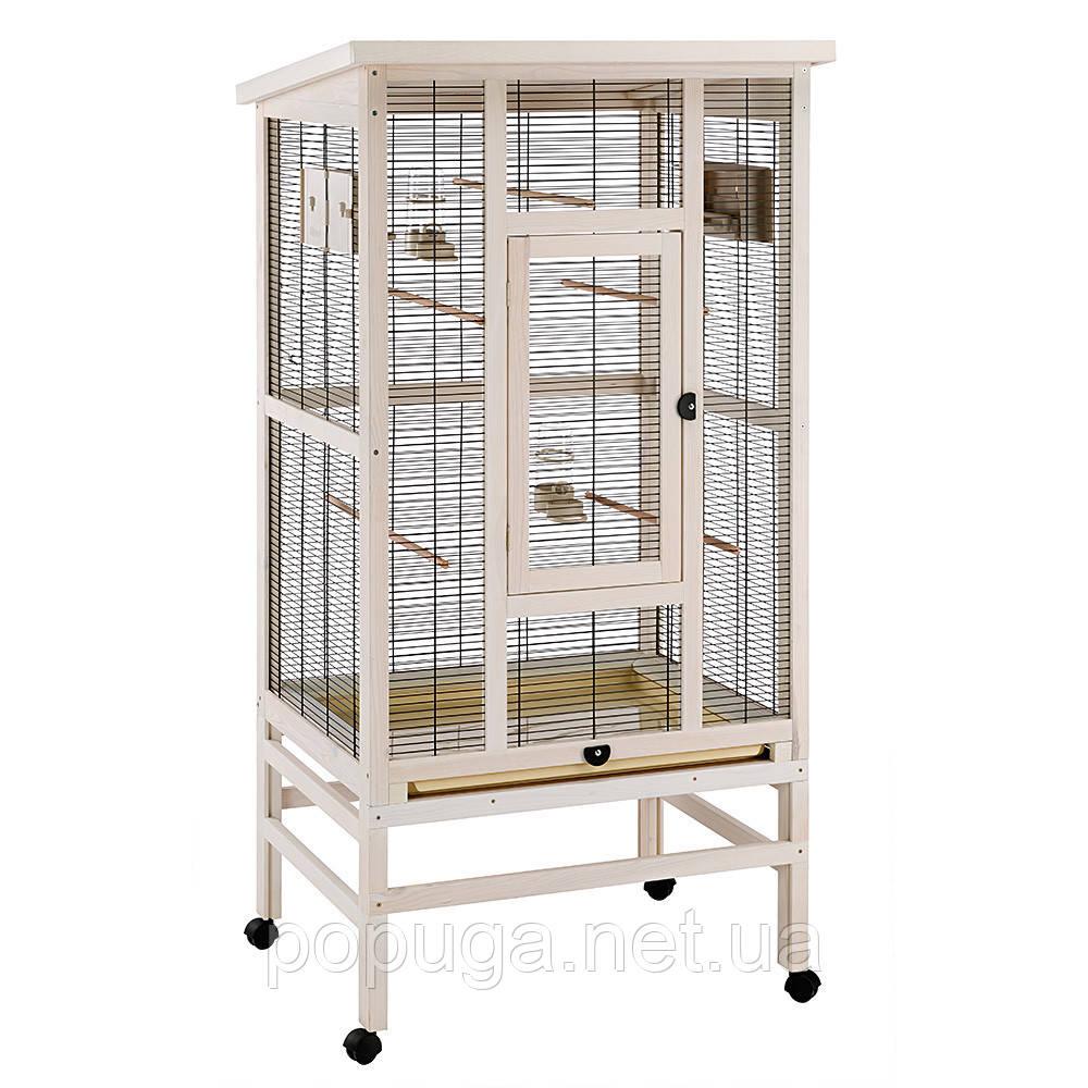 Деревянный вольер для птиц Ferplast Wilma 83*67*158,5 см