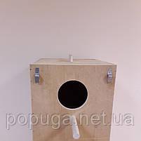 Гнездо для крупных попугаев 35*35*50см., фото 2
