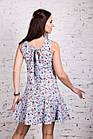 Женское цветочное платье весна-лето 2018 - Код пл-258, фото 3