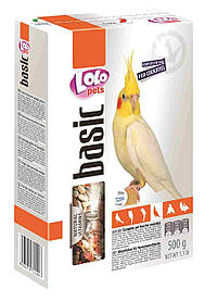 LoLo Pets Полнорационный корм для средних попугаев 500 г