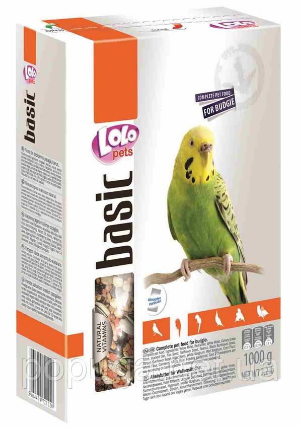 LoLo Pets Повнораціонний корм для хвилястих папуг, 500 г