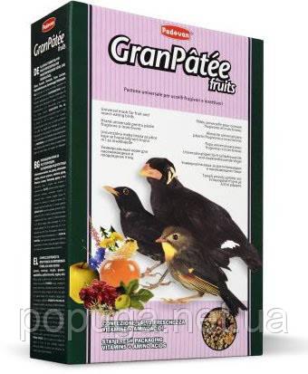 Padovan для насекомоядных и плодоядных птиц Granpatee fruits, 1 кг