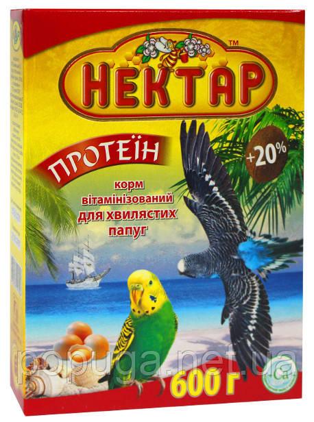Вітамінізований повнораціонний корм для хвилястих папуг.