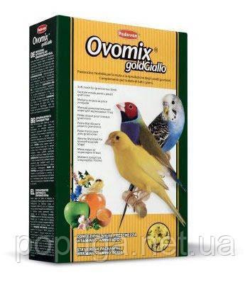 Ніжний додатковий корм для пташенят, та в період линьки а також для яскравості птиці. OVOMIX GoldGiallo