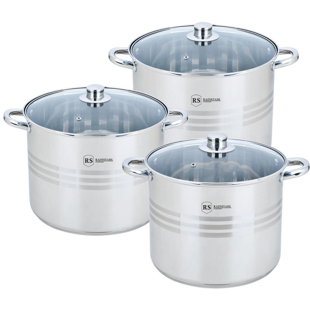 Набор посуды Rainstahl RS-2303-06 (6 предметов)