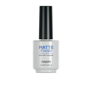 Матовое верхнее покрытие (матовый топ для обычного лака) Naomi MATTE FINISH