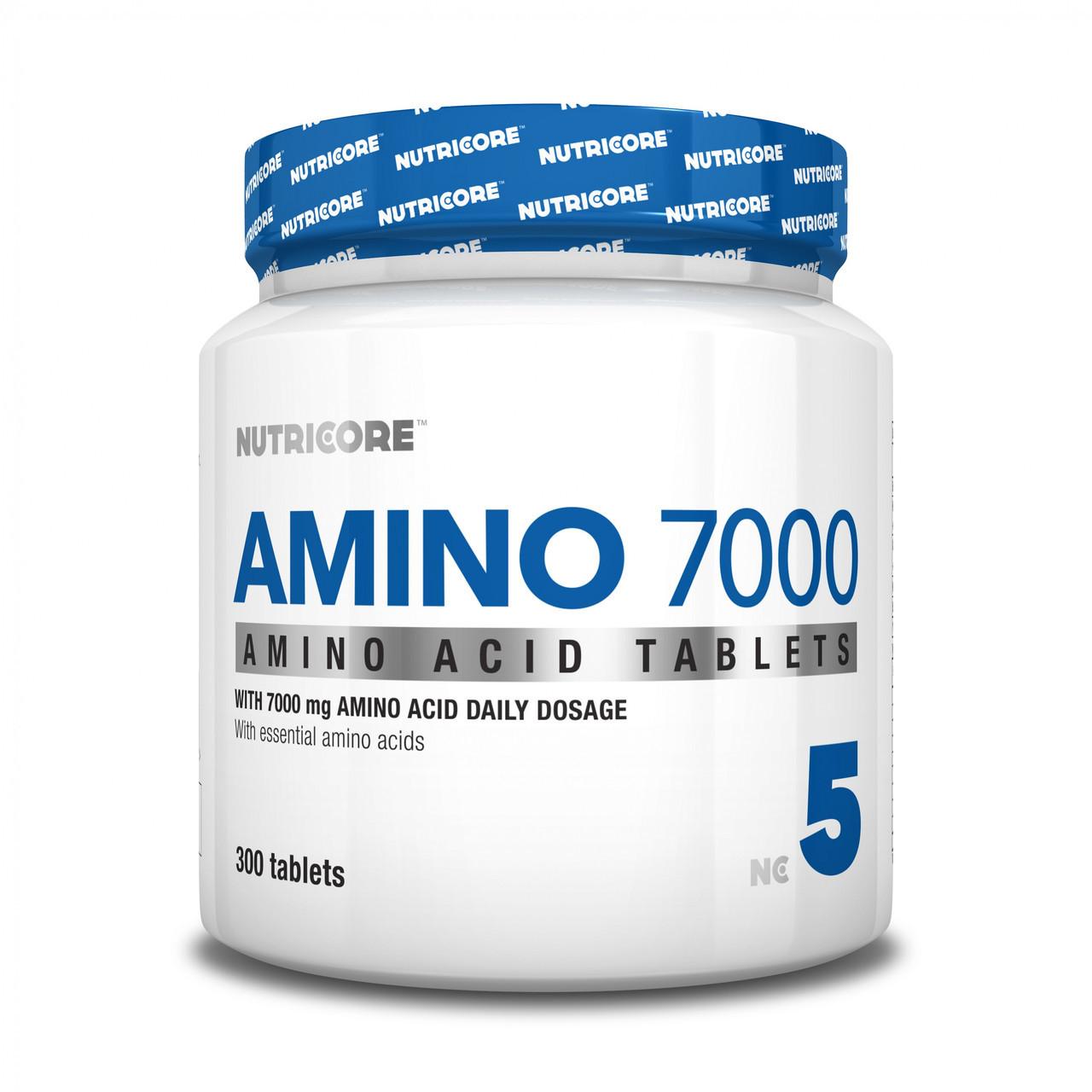 Аминокислоты Nutricore Amino 7000 300 tabs