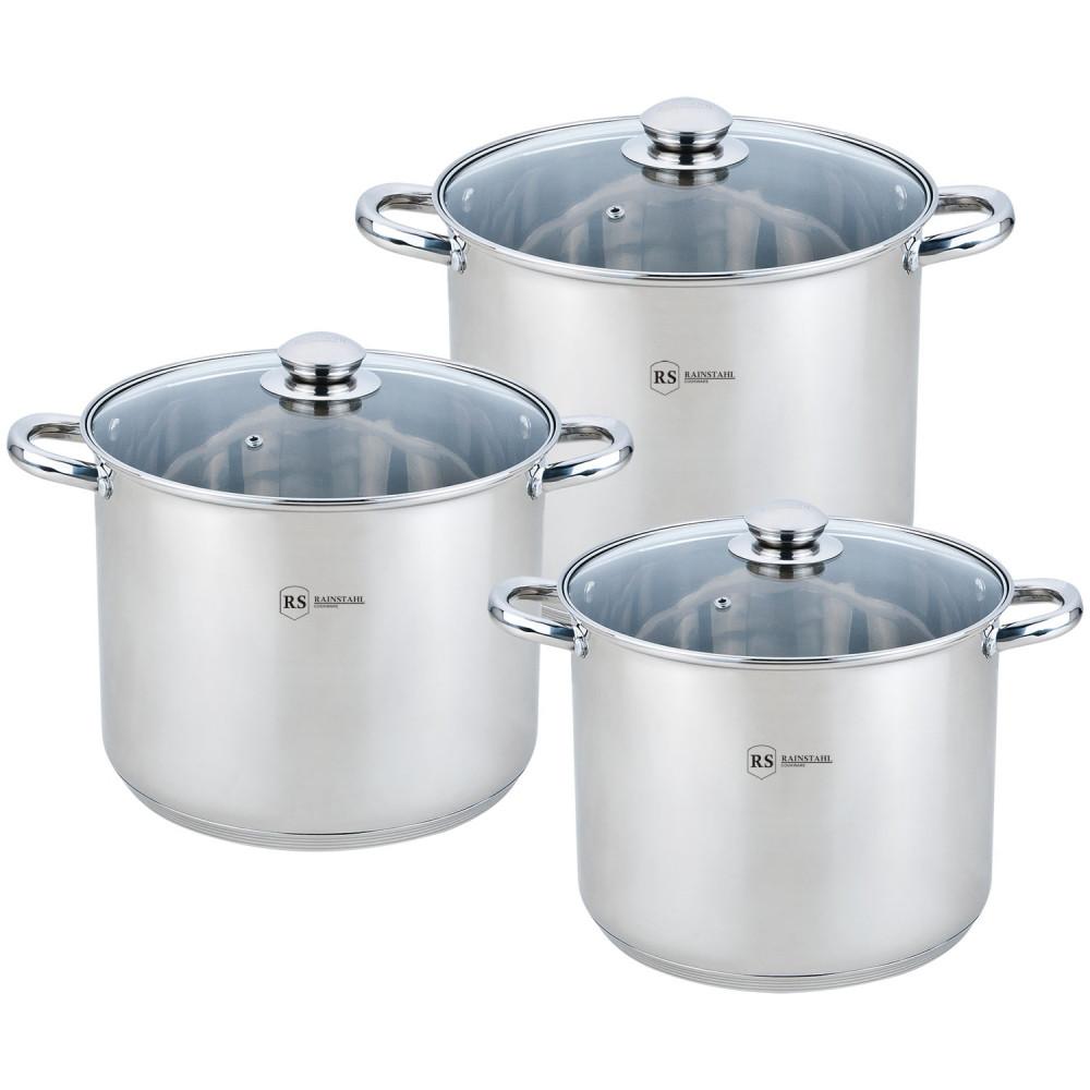 Набор посуды Rainstahl RS-2502-06 (6 предметов)