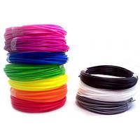 Пластик для 3D ручки набор ПЛА PLA 3Doodler 10 цветов на 30 метров