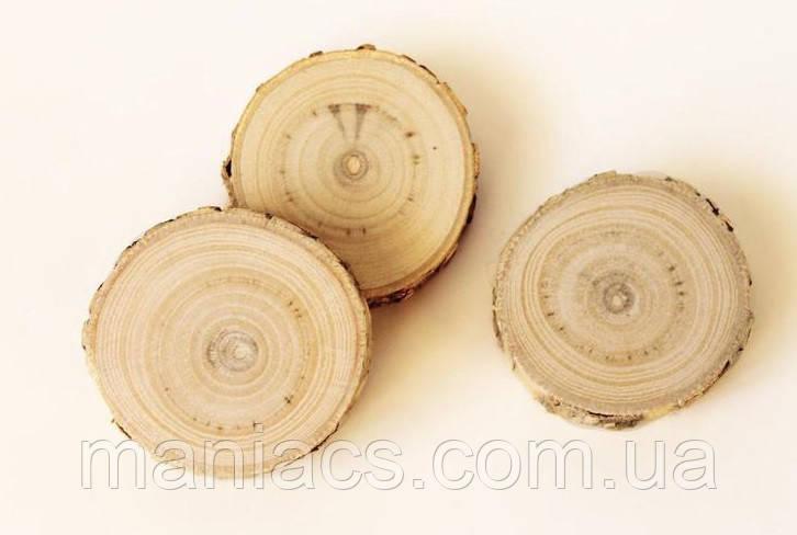 Срез дерева. Ясень 8 - 10 см