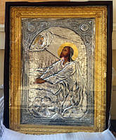 Икона храмовая Моление о чаше 120*85 см  с позолотой сусальным золотом