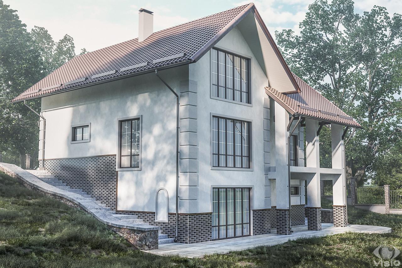 Экстерьер домов и коттеджей (минимальная цена за объект) 3DsMax+Corona, фото 1