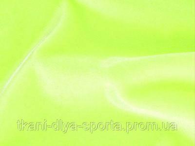 Стрейч-бархат гладкий CHRISANNE (Англия) ярко-лимонный fluo (fluo yellow)