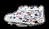 Мужские кроссовки Vetements x Reebok InstaPump Fury (Рибок ИнстаПамп) белые, фото 4