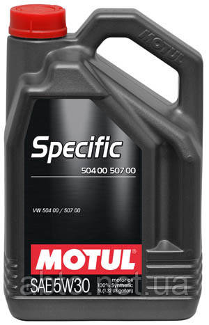 Масло моторное SPECIFIC 504 00 507 00 SAE 5W30 (1L)