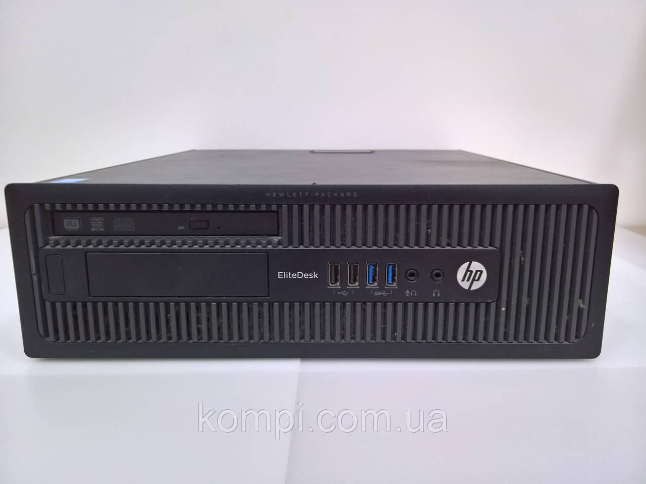 Системний блок HP EliteDesk 800 s1150 (Intel Pentium G3230/ DDR3 4GB/Video INTG/HDD 500gb/DVD RW)