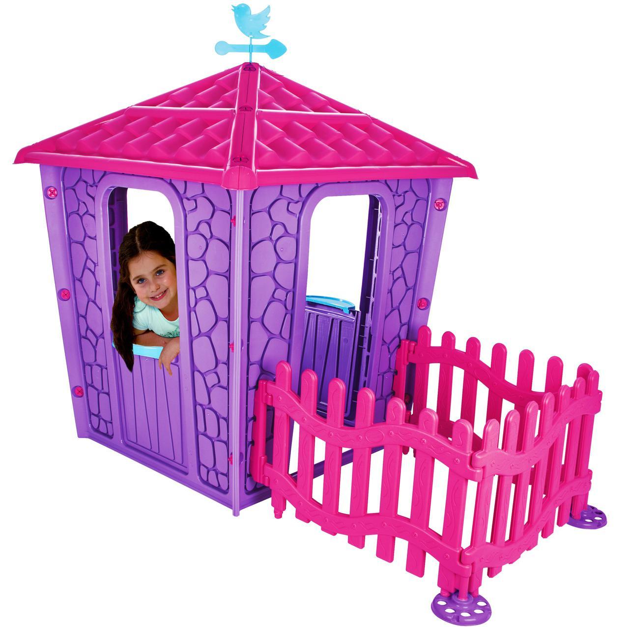 Детский игровой домик с террасой Дворец
