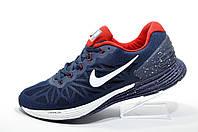 Кроссовки для бега в стиле Nike Lunarglide 6, Dark blue\White