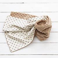 """Одеяло, плед для новорожденных """"Капучино"""""""