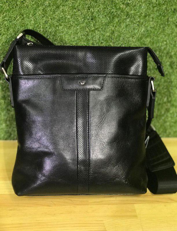 2f614f734799 Tergan 21320 сумка через плечо, кожа натуральная, черная - Магазин  чемоданов, сумок и