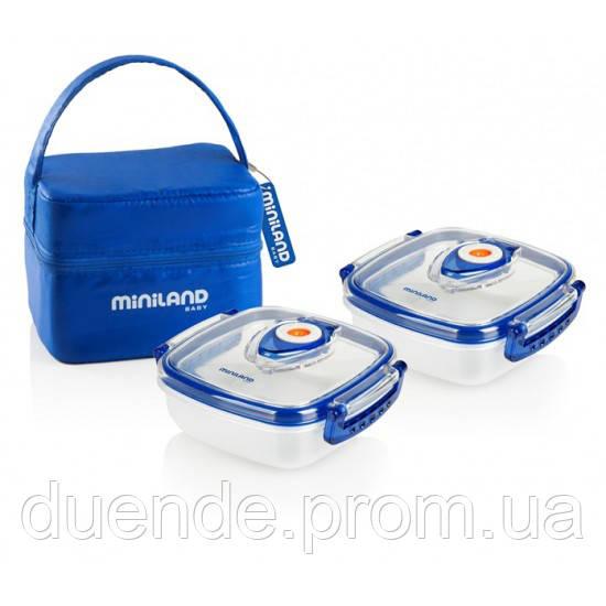 Термосумка Miniland Baby с 2 контейнерами HERMIFRESH / Min 89072