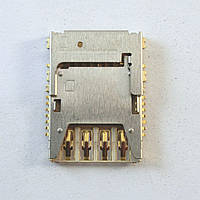 Коннектор SIM-карты для  Samsung G355H, I9200, I9205, G900F, I9300i, N7502, G360F, G361F, G388F, G389F