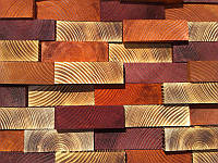 Деревянная 3D панель. Мадрид