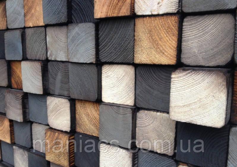 Деревянная 3D панель. Рим