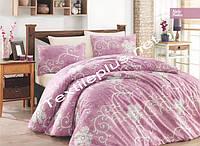 Комплект постельного белья Nely pudra Ecosse ранфорс Турция, фото 1