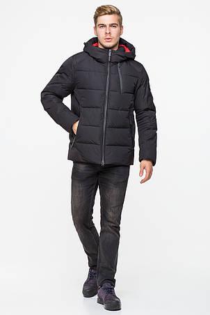 Зимняя мужская куртка CW18MD010CN в спортивном стиле - черная (#701) 46 размер, фото 2
