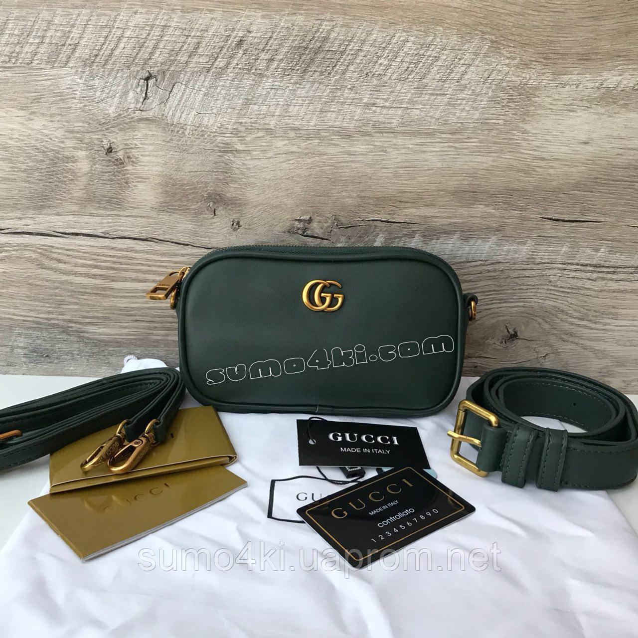 060cbba0fded Женская поясная сумка Gucci ( Гуччи ) - Интернет-магазин «Галерея Сумок» в